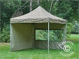 Pop up gazebo FleXtents PRO 3x3 m Camouflage/Military, incl. 4 sidewalls - 21