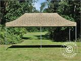 Pop up gazebo FleXtents PRO 3x6 m Camouflage/Military, incl. 6 sidewalls - 13