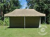 Pop up gazebo FleXtents PRO 3x6 m Camouflage/Military, incl. 6 sidewalls - 14
