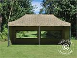 Pop up gazebo FleXtents PRO 3x6 m Camouflage/Military, incl. 6 sidewalls - 15
