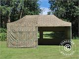 Pop up gazebo FleXtents PRO 3x6 m Camouflage/Military, incl. 6 sidewalls - 17