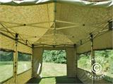 Pop up gazebo FleXtents PRO 3x6 m Camouflage/Military, incl. 6 sidewalls - 19