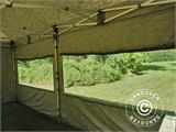 Pop up gazebo FleXtents PRO 3x6 m Camouflage/Military, incl. 6 sidewalls - 20