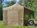 Pop up gazebo FleXtents PRO 3x6 m Camouflage/Military, incl. 6 sidewalls - 23