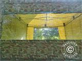 Pop up gazebo FleXtents PRO 4x4 m Camouflage/Military, incl. 4 sidewalls - 6