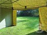 Pop up gazebo FleXtents PRO 4x4 m Camouflage/Military, incl. 4 sidewalls - 10