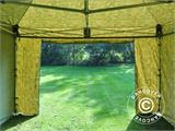 Pop up gazebo FleXtents PRO 4x4 m Camouflage/Military, incl. 4 sidewalls - 13