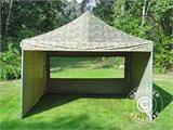 Pop up gazebo FleXtents PRO 4x4 m Camouflage/Military, incl. 4 sidewalls - 15
