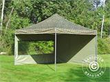 Pop up gazebo FleXtents PRO 4x4 m Camouflage/Military, incl. 4 sidewalls - 17