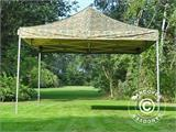 Pop up gazebo FleXtents PRO 4x4 m Camouflage/Military, incl. 4 sidewalls - 19
