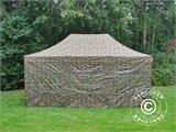 Pop up gazebo FleXtents PRO 4x6 m Camouflage/Military, incl. 8 sidewalls - 6