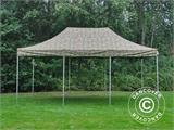 Pop up gazebo FleXtents PRO 4x6 m Camouflage/Military, incl. 8 sidewalls - 10