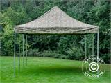 Pop up gazebo FleXtents PRO 4x6 m Camouflage/Military, incl. 8 sidewalls - 11