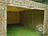 Pop up gazebo FleXtents PRO 4x6 m Camouflage/Military, incl. 8 sidewalls - 19