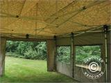 Pop up gazebo FleXtents PRO 4x6 m Camouflage/Military, incl. 8 sidewalls - 20