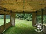Pop up gazebo FleXtents PRO 4x6 m Camouflage/Military, incl. 8 sidewalls - 21