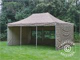 Pop up gazebo FleXtents PRO 4x6 m Camouflage/Military, incl. 8 sidewalls - 22