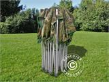 Pop up gazebo FleXtents PRO 4x6 m Camouflage/Military, incl. 8 sidewalls - 23