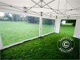 Pop up Gazebo FleXtents Xtreme Heavy Duty 3x6 m White, incl. 6 sidewalls - 5