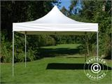 Vouwtent/Easy up tent FleXtents Xtreme 50 Heavy Duty 4x4m, Wit inkl 4 Zijwanden - 8