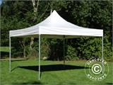 Vouwtent/Easy up tent FleXtents Xtreme 50 Heavy Duty 4x4m, Wit inkl 4 Zijwanden - 9
