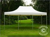 Vouwtent/Easy up tent FleXtents Xtreme 50 Heavy Duty 4x6m, Wit - 1