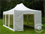 Vouwtent/Easy up tent FleXtents Xtreme 50 Heavy Duty 4x6m Wit, inkl. 8 Zijwanden - 1