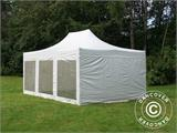 Vouwtent/Easy up tent FleXtents Xtreme 50 Heavy Duty 4x6m Wit, inkl. 8 Zijwanden - 5