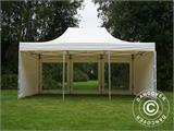 Vouwtent/Easy up tent FleXtents Xtreme 50 Heavy Duty 4x6m Wit, inkl. 8 Zijwanden - 7