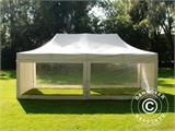 Vouwtent/Easy up tent FleXtents Xtreme 50 Heavy Duty 4x8m Wit, inkl. 6 Zijwanden - 16