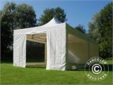Vouwtent/Easy up tent FleXtents Xtreme 50 Heavy Duty 4x8m Wit, inkl. 6 Zijwanden - 17