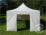 Vouwtent/Easy up tent FleXtents Xtreme 50 Heavy Duty 4x8m Wit, inkl. 6 Zijwanden - 18