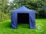 Pop up gazebo FleXtents Xtreme 50 3x6 m Dark blue, incl. 6 sidewalls - 2