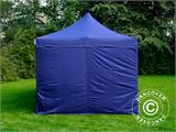 Pop up gazebo FleXtents Xtreme 50 3x6 m Dark blue, incl. 6 sidewalls - 4
