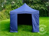 Pop up gazebo FleXtents Xtreme 50 3x6 m Dark blue, incl. 6 sidewalls - 5
