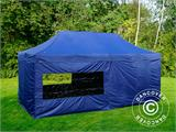 Pop up gazebo FleXtents Xtreme 50 3x6 m Dark blue, incl. 6 sidewalls - 6