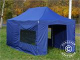 Pop up gazebo FleXtents Xtreme 50 3x6 m Dark blue, incl. 6 sidewalls - 7