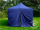 Pop up gazebo FleXtents Xtreme 50 3x6 m Dark blue, incl. 6 sidewalls - 8