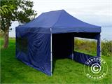 Pop up gazebo FleXtents Xtreme 50 3x6 m Dark blue, incl. 6 sidewalls - 9