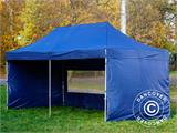 Pop up gazebo FleXtents Xtreme 50 3x6 m Dark blue, incl. 6 sidewalls - 11