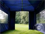 Pop up gazebo FleXtents Xtreme 50 3x6 m Dark blue, incl. 6 sidewalls - 18