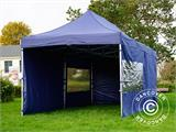 Pop up gazebo FleXtents Xtreme 50 3x6 m Dark blue, incl. 6 sidewalls - 19