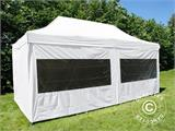 Quick-up telt FleXtents PRO 3x6m Hvit, inkl. 6 sider - 2