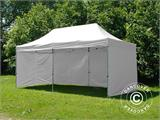 Quick-up telt FleXtents PRO 3x6m Hvit, inkl. 6 sider - 7