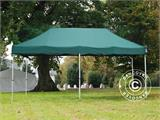 Pop up gazebo FleXtents Xtreme 50 3x6 m Green, incl. 6 sidewalls - 1