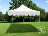 "Vouwtent/Easy up tent FleXtents PRO ""Morocco"" 3x3m Wit - 1"