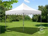 "Vouwtent/Easy up tent FleXtents PRO ""Morocco"" 3x3m Wit - 2"