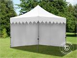 "Vouwtent/Easy up tent FleXtents PRO ""Morocco"" 3x3m Wit, inkl. 4 zijwanden - 1"