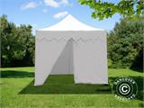 "Vouwtent/Easy up tent FleXtents PRO ""Morocco"" 3x3m Wit, inkl. 4 zijwanden - 5"