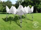 "Pop up gazebo FleXtents PRO ""Morocco"" 3x3 m White, incl. 4 sidewalls - 10"